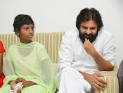Pawan Kalyan meets Srija n family-thumbnail-6