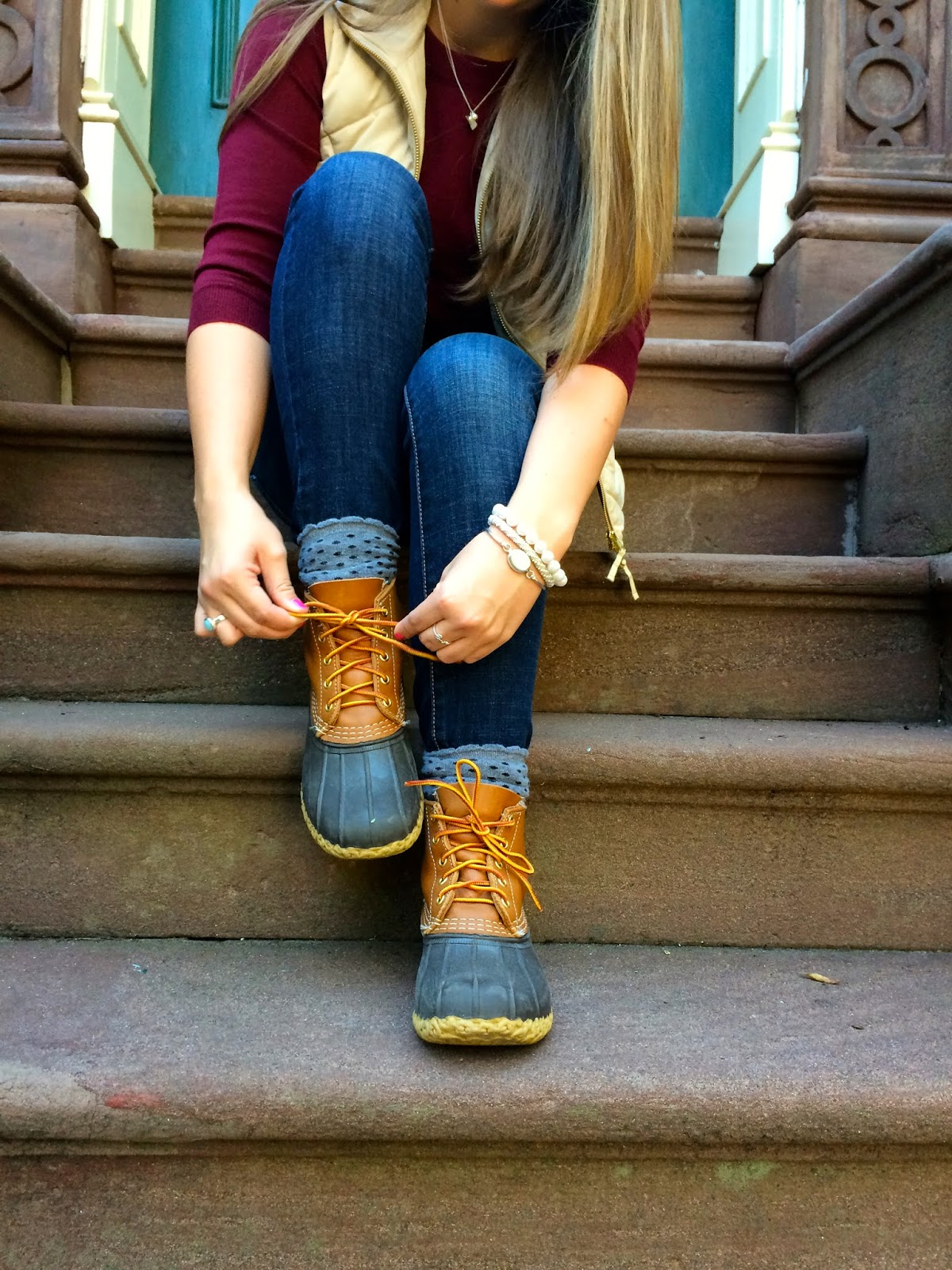 Brilliant  Boots Outfit Boot Outfits Outfits With Duck Boots Sperry Duck Boots