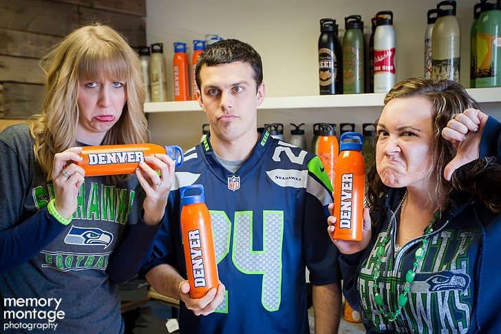 Libery Bottleworks Seattle Seahawks fans in Yakima WA