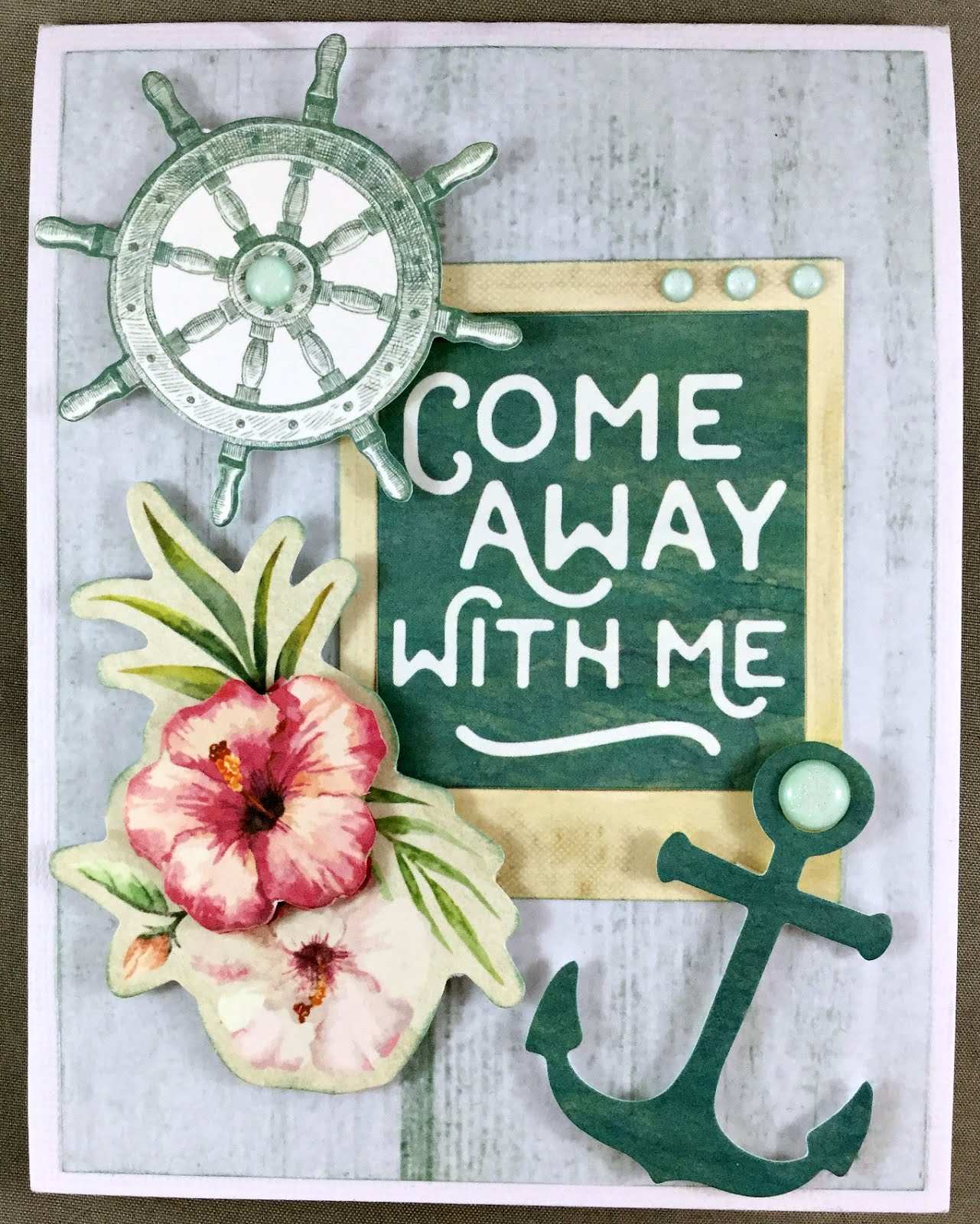 Come Away with me Card