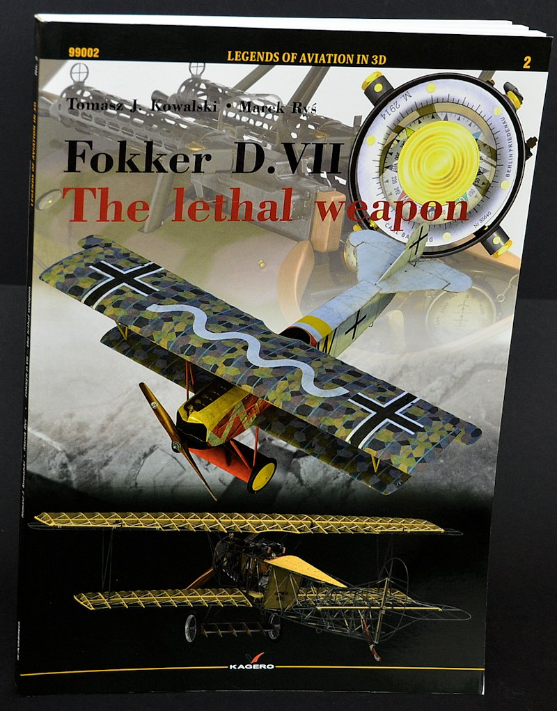 "Kagero Fokker D.VII  ""The lethal Weapon"" Kagero+Fokker+DVII+The+Lethal+Weapon+(1)"
