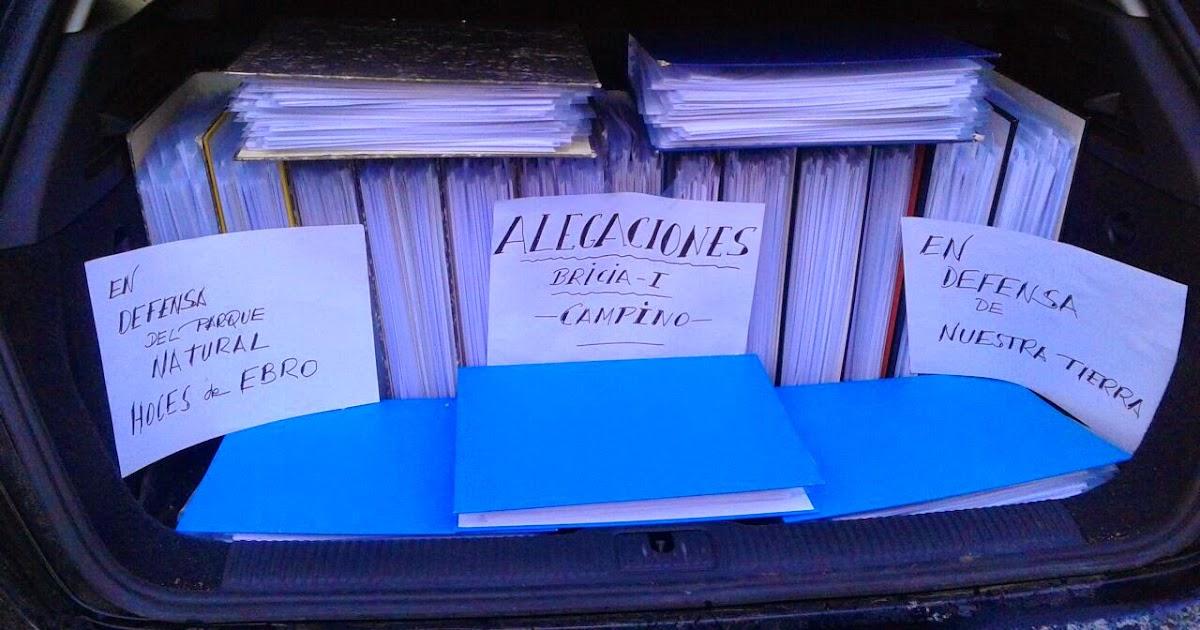 Burgosdijital m s de 900 alegaciones al eia del sondeo for No mas 900 oficina directa