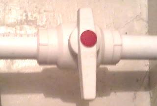 Шаровый вентиль на полипропиленовую трубу
