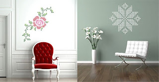 ������ ���� 2012, ����� 2012,������� Wall-stickers-graphic-rose-and-snowflake.jpg