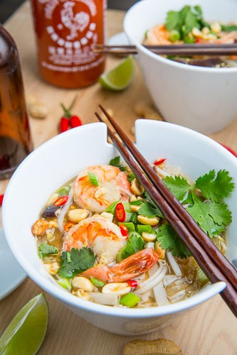 Pad Thai Soup on Closet Cooking