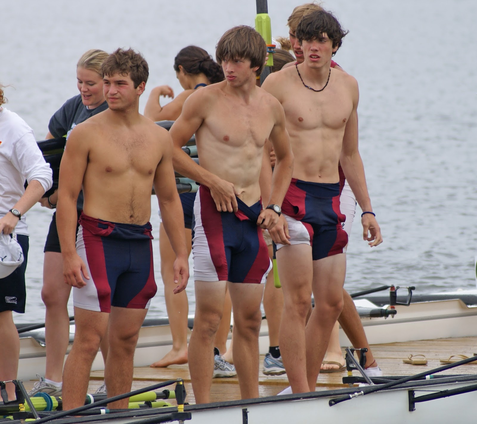 Hot Men Rowing