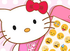 Hello Kitty's Pink iPhone