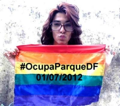 #OcupaParqueDF será no dia 01/07 a partir das 10h no estacionamento 11 (Foto: Divulgação)