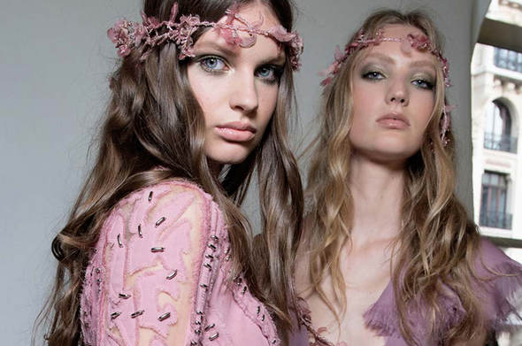 BEAUTY LOOKS FROM HAUTE COUTURE FALL 2015