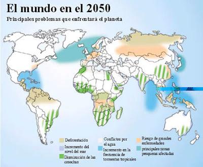 Como sera el mundo en el 2050