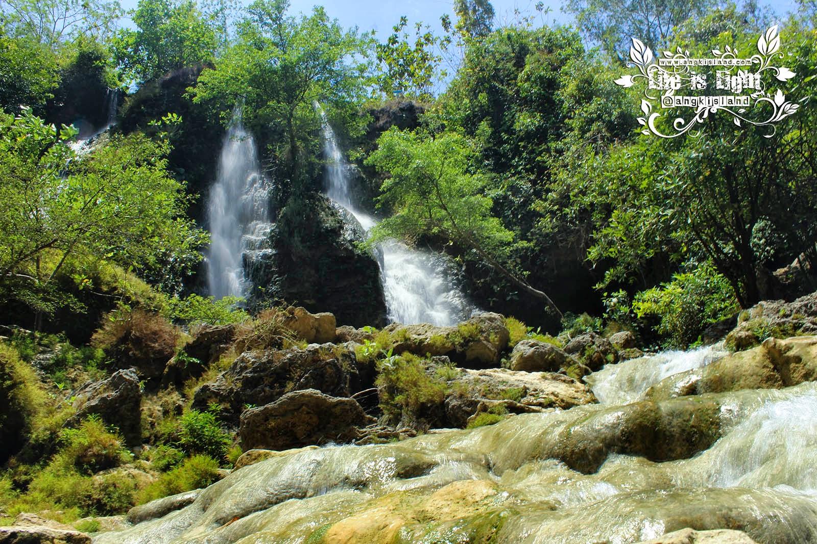 Sri Gethuk waterfall Gunung Kidul