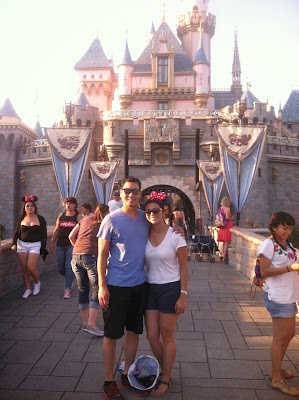 Jenn and Mike at Disneyland