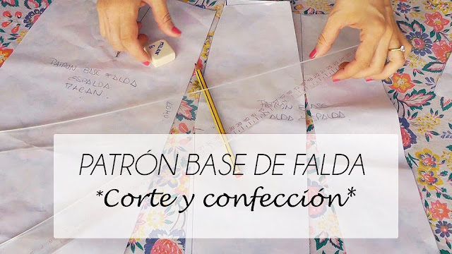 VIDEO TUTORIAL PATRON BASE DE FALDA