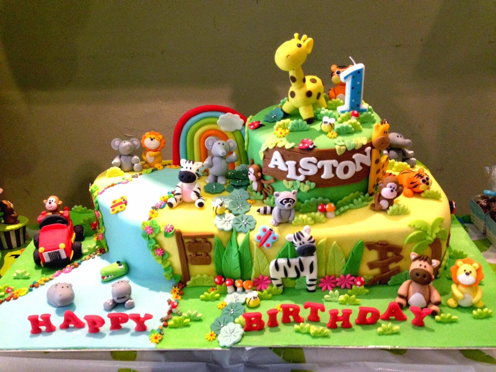 Oven Creations Happy 1st Birthday Alston