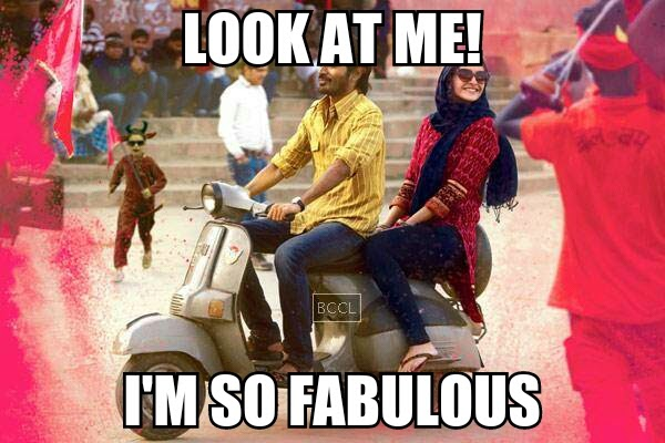 Sonam Kapoor and Dhanush Ranjhanaa Meme Bollywood Funny