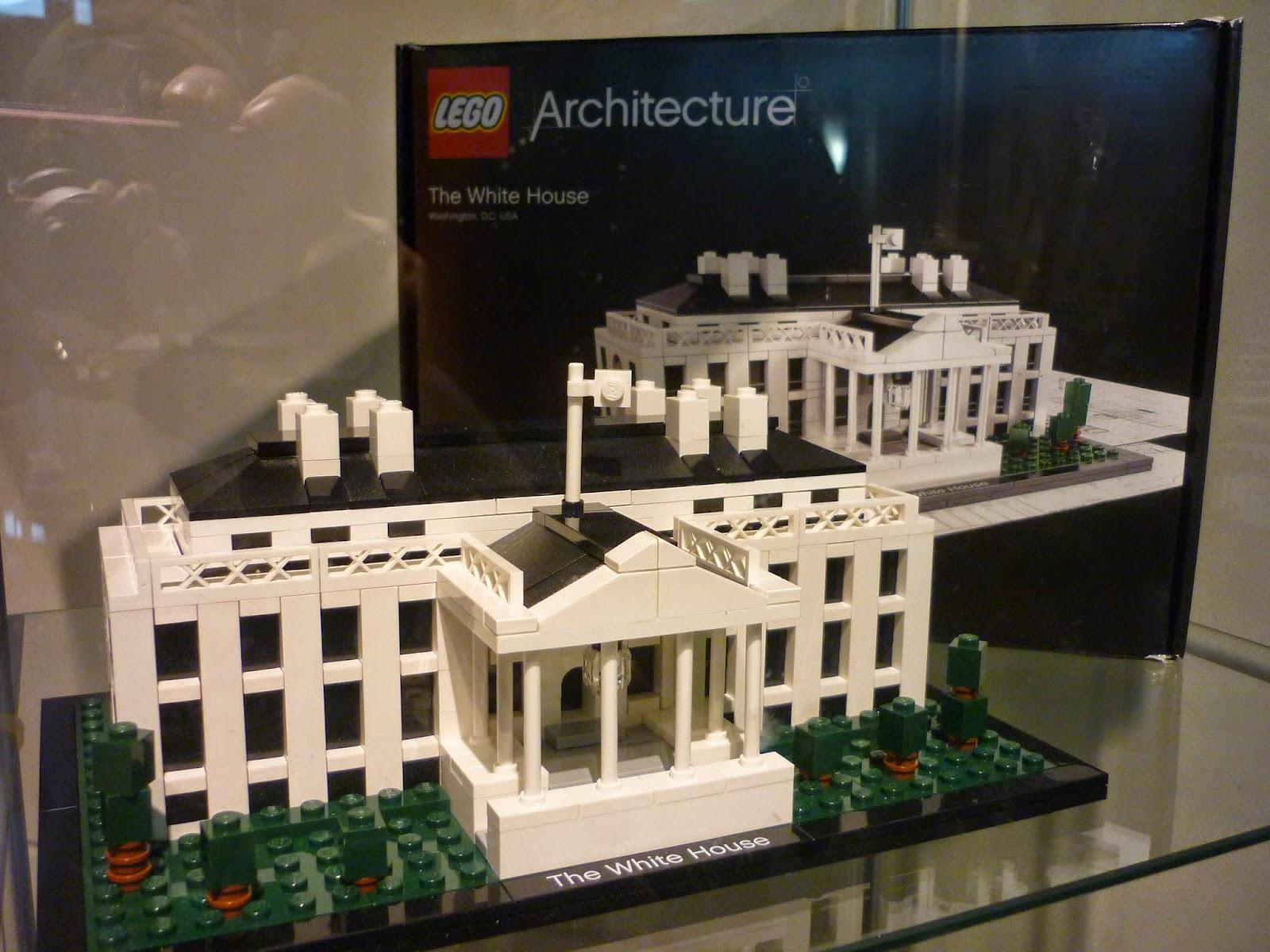 Xq me lo merezco lego architecture en fnac callao - Planos de la casa blanca ...