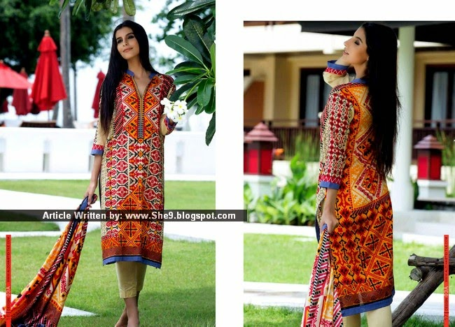 Monsoon Lawn 2015 Vol-2 by Al-Zohaib Textiles