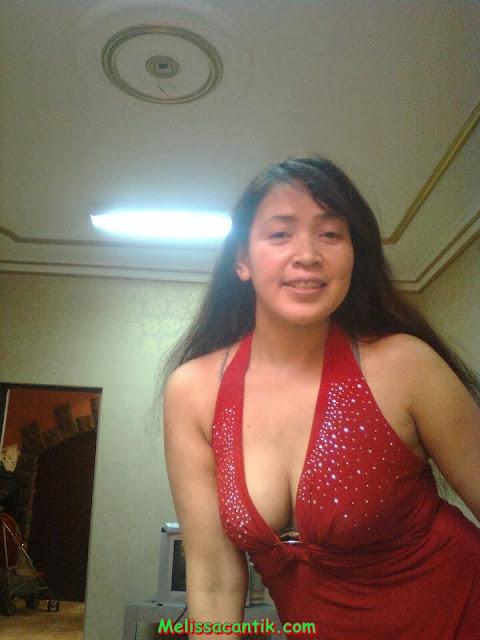 Update Foto Tante Nancy Berjilbab Buah Dadanya Montok