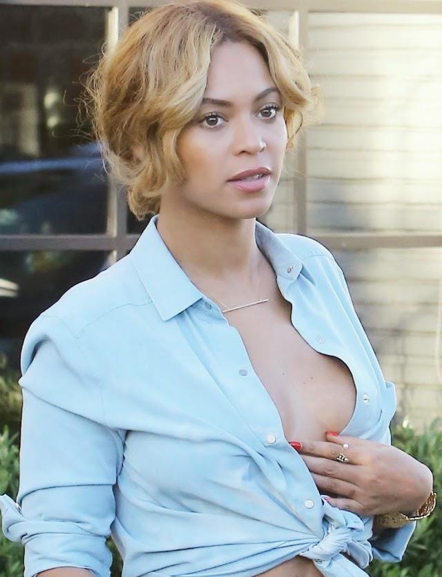 Beyoncé quiere también mostrar las tetas