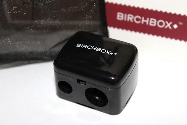 birch box november, birch box review, beauty pencil sharpener, make up sharpener