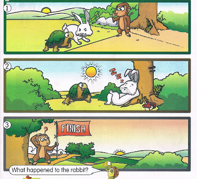 the rabbit and the tortoise story with pictures