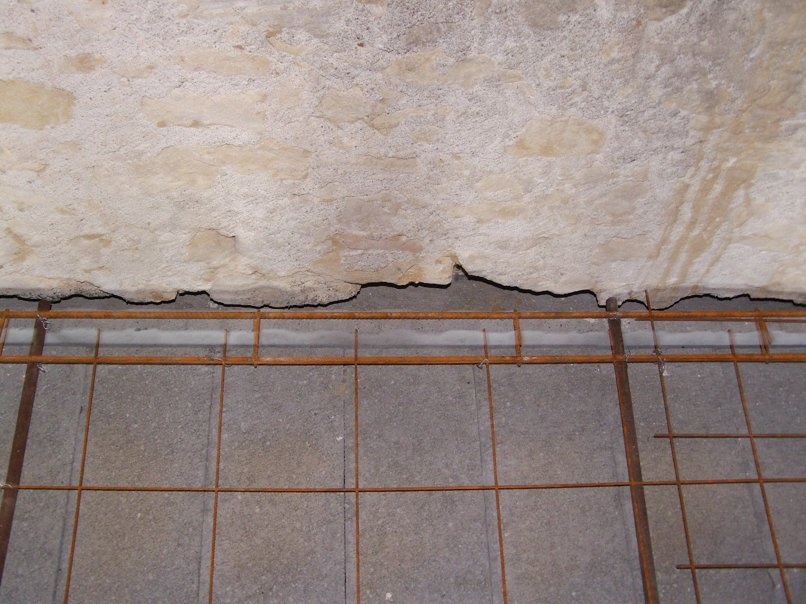 Notre projet f rraillage plancher - Comment faire de la barbotine de ciment ...