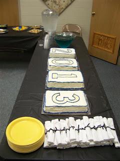 Graduation Year Cakes