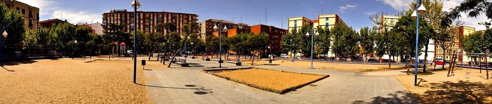 zona de juegos, parque Garrido, Salamanca