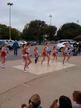Barefoot Cheer Squad
