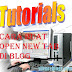 Tutorial Cara Buat Open New Tab Di Blog