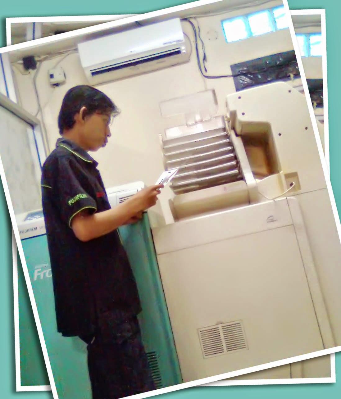 Operator mesin cetak fujifilm terbaik di Banjarmasin