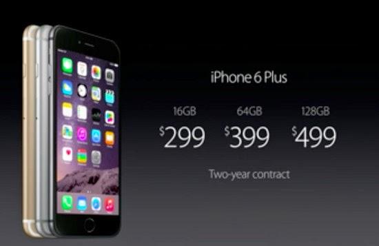 Harga dan Spesifikasi iPhone 6 Plus , Phablet Apple pertama