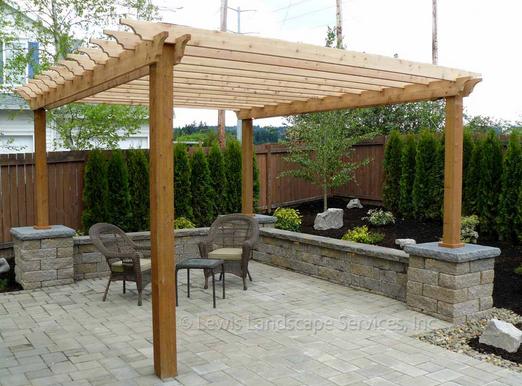 gambar kanopi rumah minimalis dari kayu terbaru murah