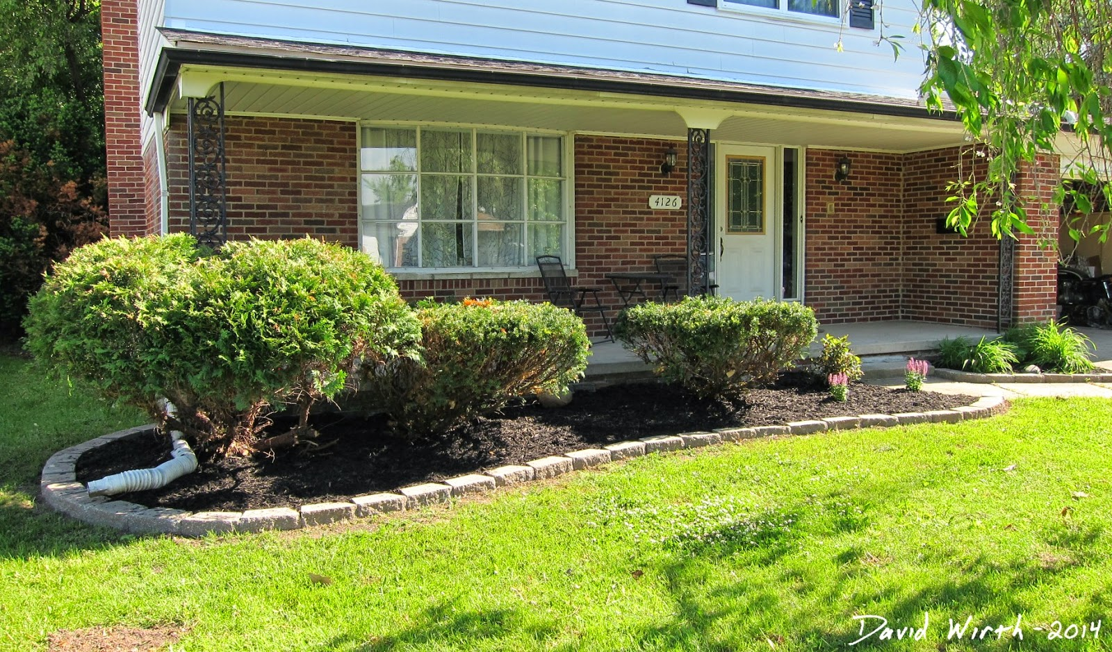 landscape mulch, easy home improvement