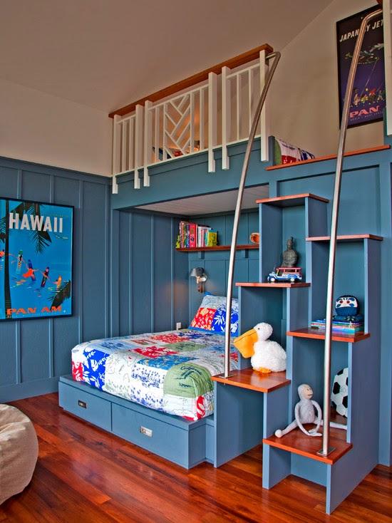 Dormitorios infantiles peque os dormitorios colores y - Decoracion dormitorios infantiles pequenos ...