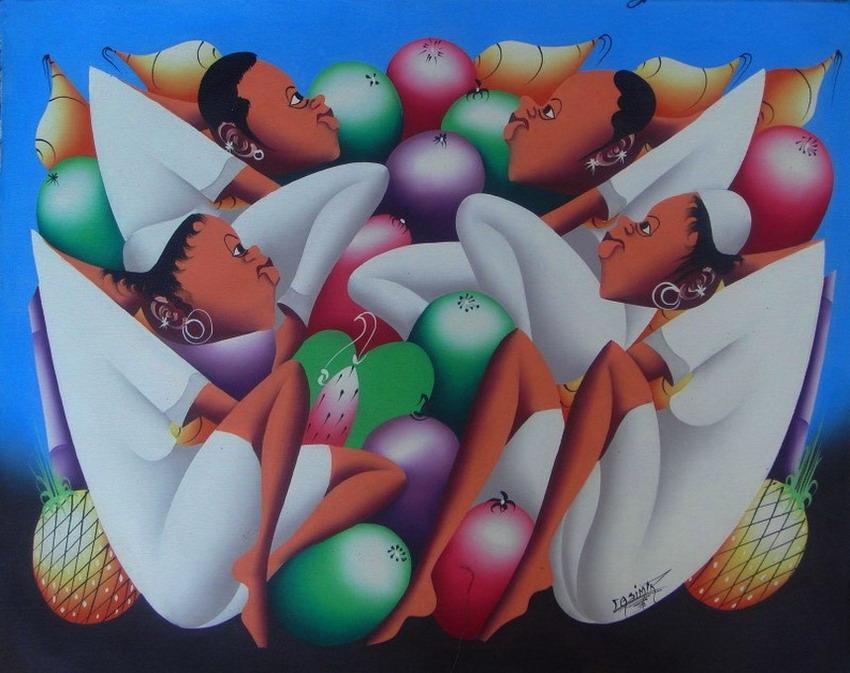 Im genes arte pinturas pinturas modernas africanas de for Pintura acrilica moderna