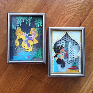 princess jasmine rapunzel tangled paper art j shari ewing