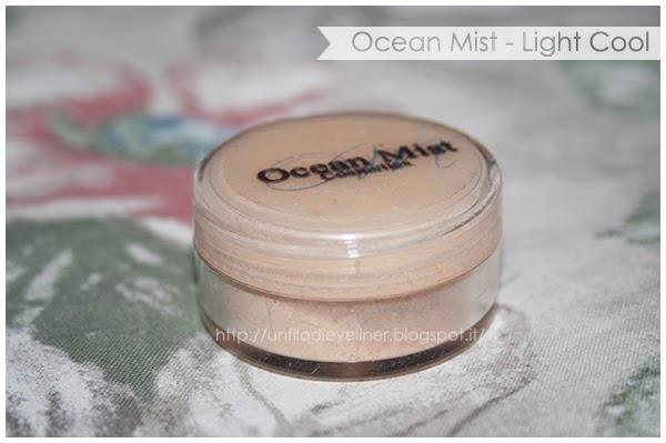 ocean mist fondotinta minerale light cool
