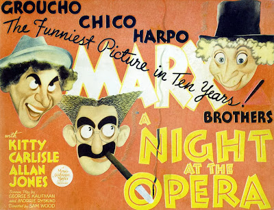 A Story about A Night At The Opera by Marx Brothers