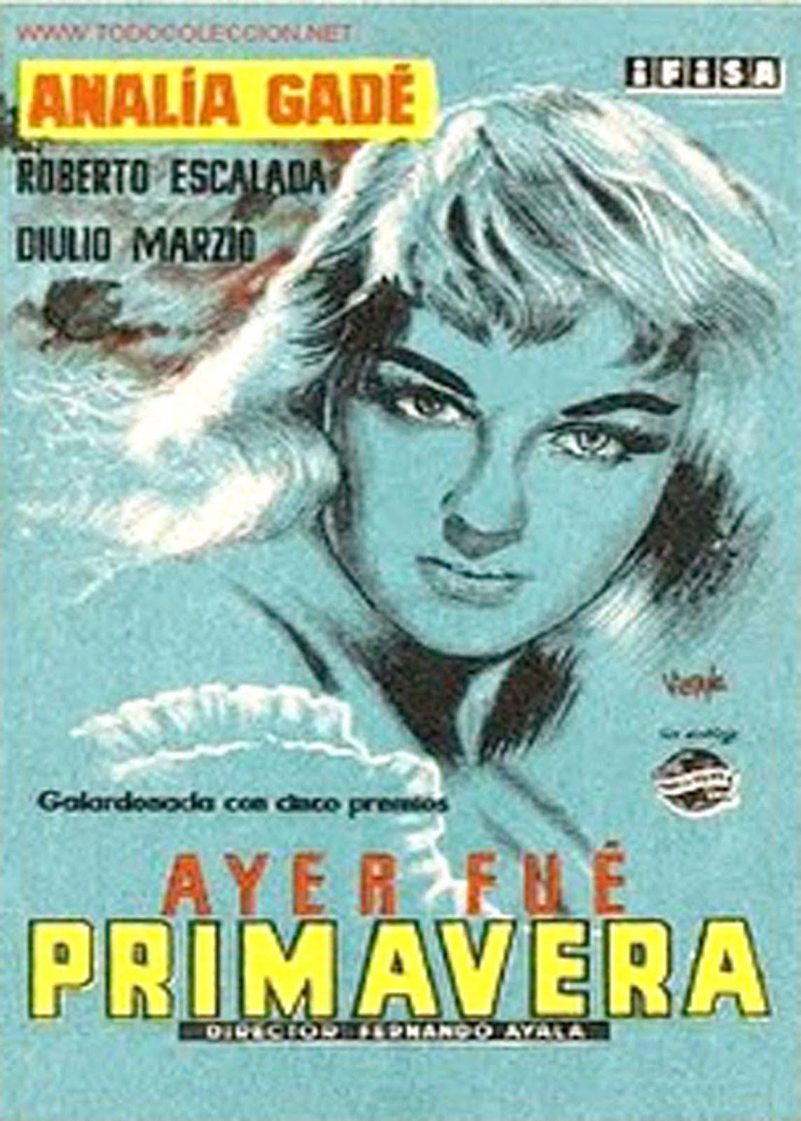 Ayer Fué Primavera (1955)