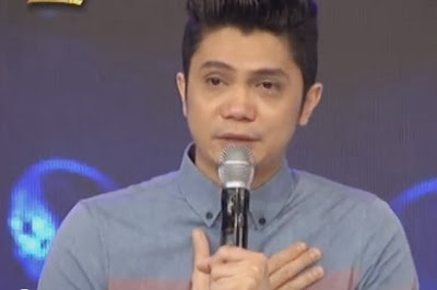 "Vhong Navarro entered ""It's Showtime"" stage emotionally, and was"