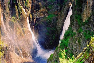 Voringsfossen falls – Normay
