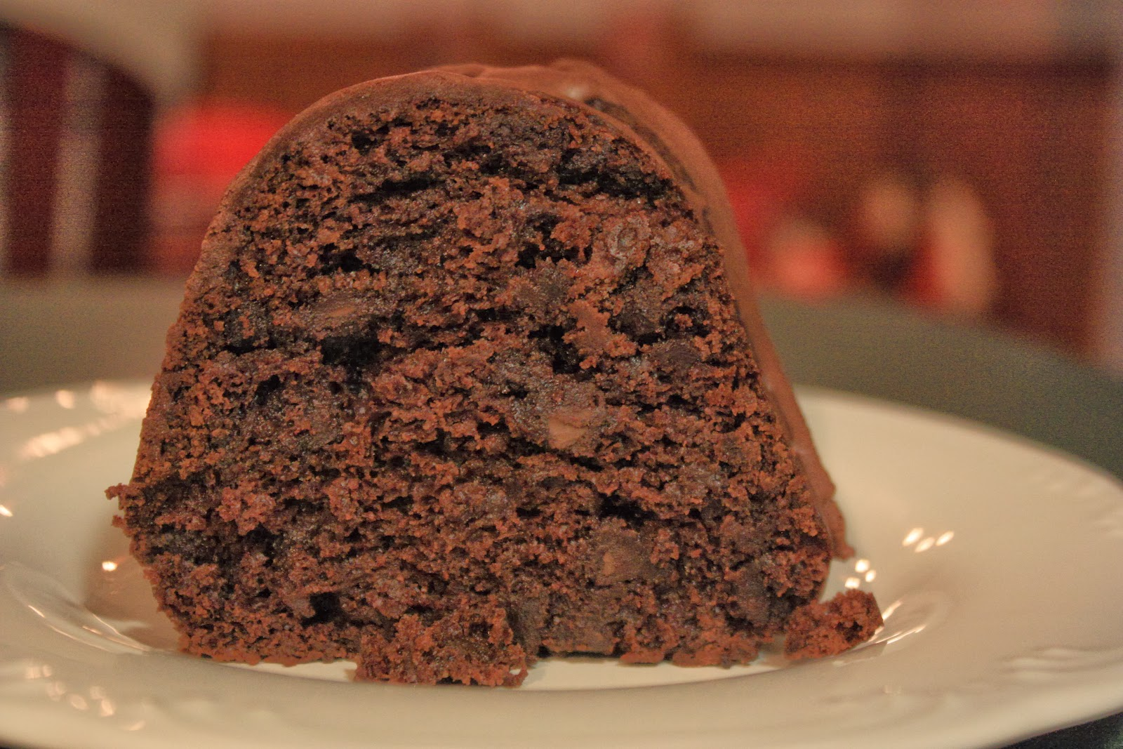 Crazy Cooking Challenge: Chocolate Fudge Bundt Cake | Mostly ...