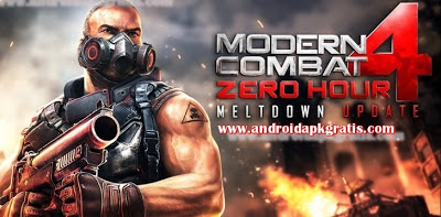 Modern Combat 4: Zero Hour (Meltdown Update Multiplayer) v1.1.0 (1.1.0) APK gratis