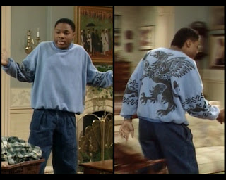 Cosby Show Huxtable fashion blog 80s sitcom Theo Malcolm Jamal Warner