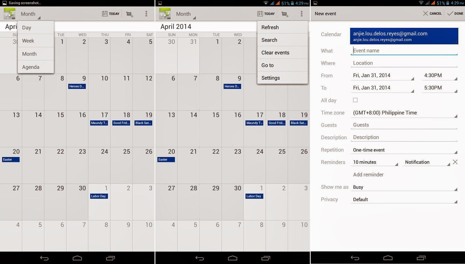 SKK Mobile Cyclops II Calendar