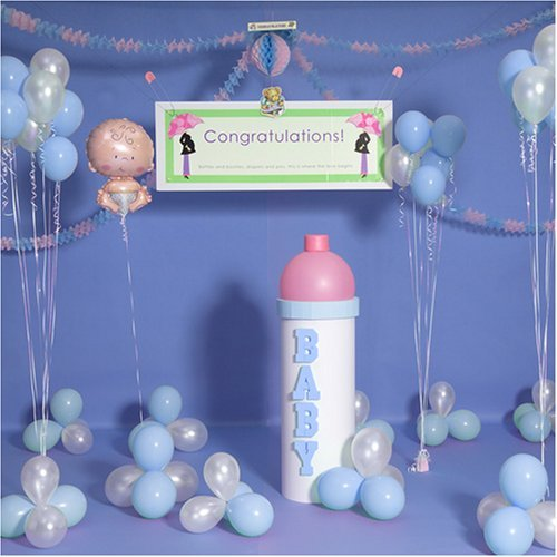 Ideas for baby showers baby shower for Baby shower at home decorations