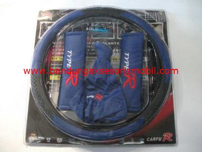Paket Sarung Setir & Gear & Ac 5 Pcs Ac-8121