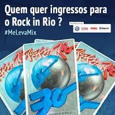 Promoção Mix Ingressos para o Rock in Rio