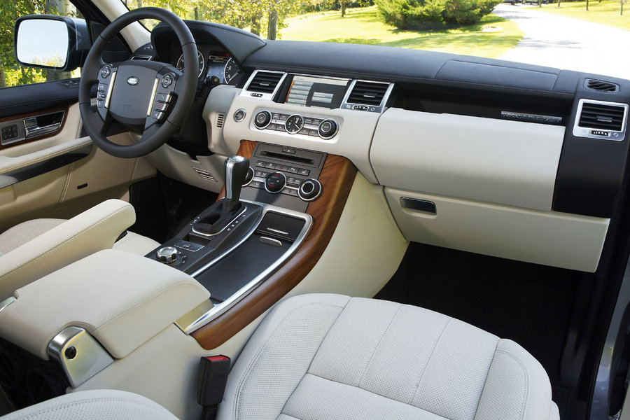 Free Images Online 2010 Range Rover Sport Interior